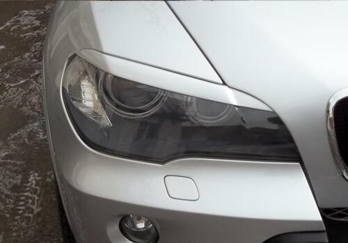 For BMW X5 E70 2006 2007 2008 2009-2011 Front Eyelids Eyebrows Headlight Covers