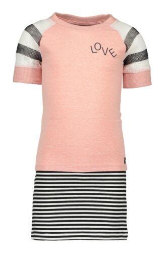 /%/%/% ✿ LIKE FLO ✿ Mädchen Girls Kleid in old pink Gr.128-164 ✿ F903-5832-200