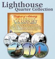 Historic Lighthouse State Quarter 3-coin Set 9