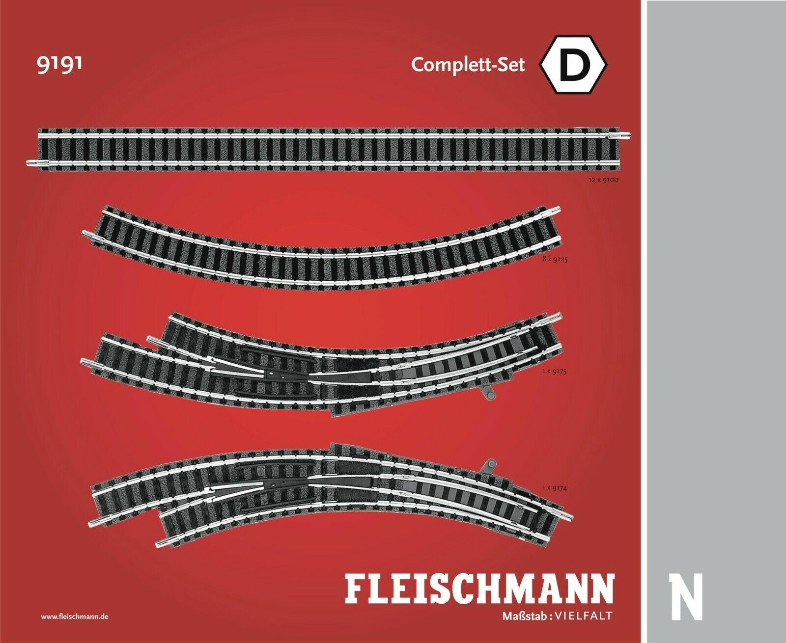 FLEISCHuomoN scala N Profi TRACK PACK. SERIE COMPLETA D