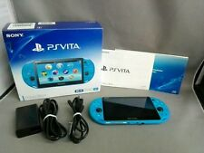 Sony PS Vita PCH-2000 ZA23 Blue Console Wi-Fi model Japan domestic version F/S
