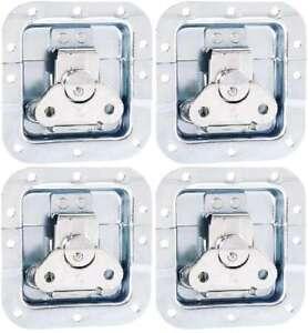 4-x-Butterfly-Schloss-mittel-102-x-104-x-14-mm-Einbauschale-gekroepft-Verschluss