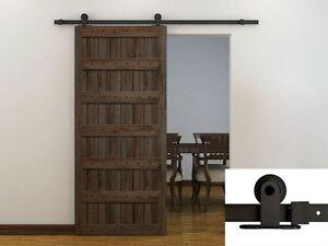 Image Is Loading 6ft Dark Coffee Modern European Style Barn Wood