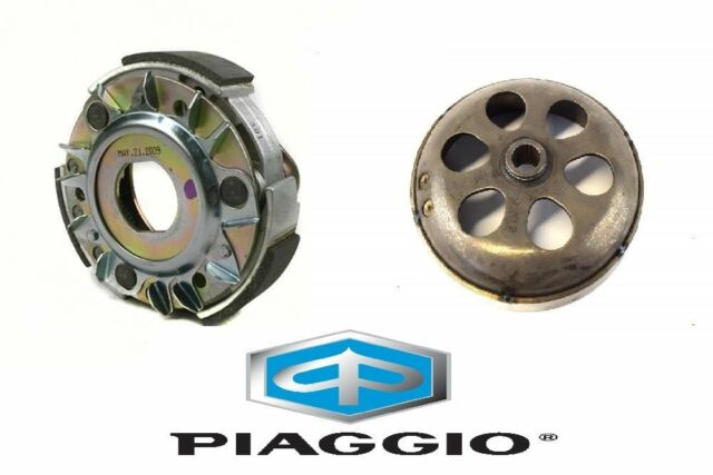 Set Embrague+Campana Original PIAGGIO Malaguti Madison 180 200 250 Mot. Piagg