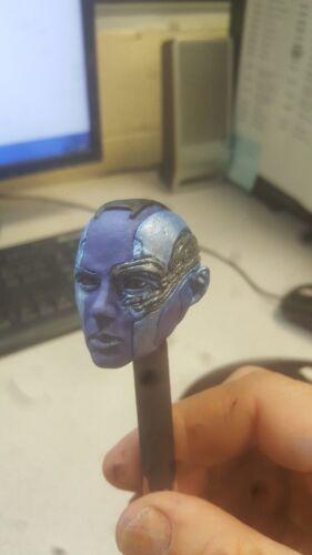 Custom painted 1//6 guardian nebula head for 12 inch body