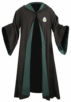 HARRY POTTER MANTELLO CLOAK UNIFORME SERPEVERDE SLYTHERIN DRACO COSPLAY CAPE #1