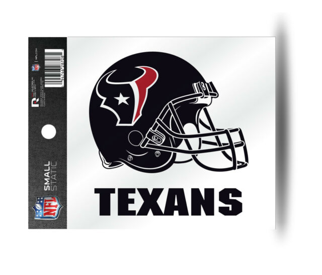 NFL Houston Texans Decal Window Static-Cling Sticker Car or Truck