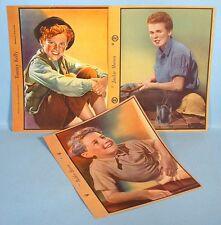 1930s Child Adolescent Movie Stars 3 Dixie Cup Ice Cream Premium Photos Original