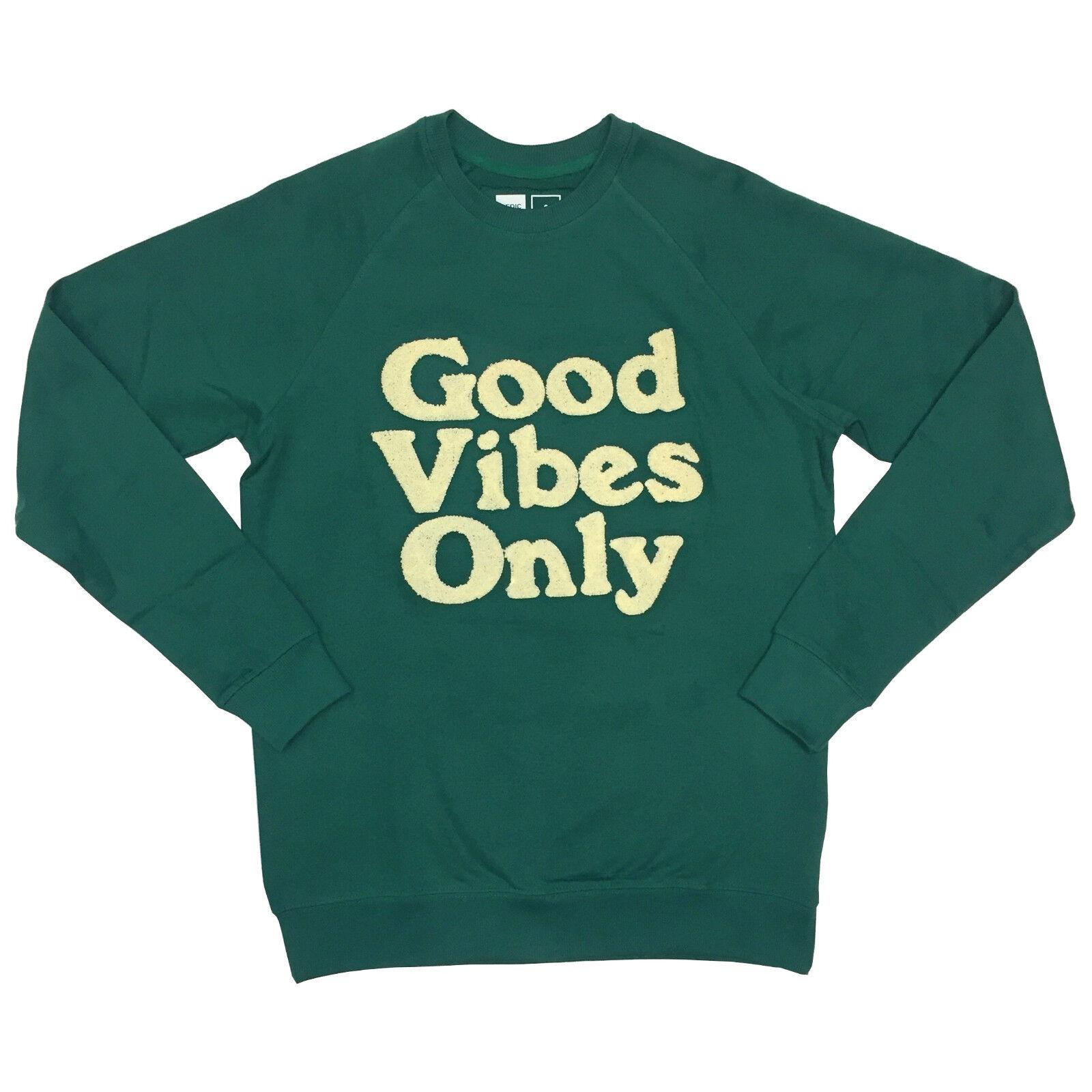 DEDICATED GVO Chenille Sweatshirt Sweater Pullover everGrün 16343