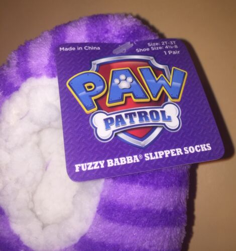 Paw Patrol Toddler Girl Slippers House Shoes Size 2T-3T Fits Shoe Size 4.5-8 New