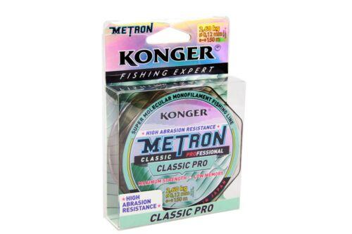 Fishing Line KONGER Metron Classic Pro Coil 150m Monofile Super Strong ! 0,028