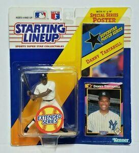 DANNY TARTABULL New York Yankees Starting Lineup SLU MLB 1992 Figure Poster Card