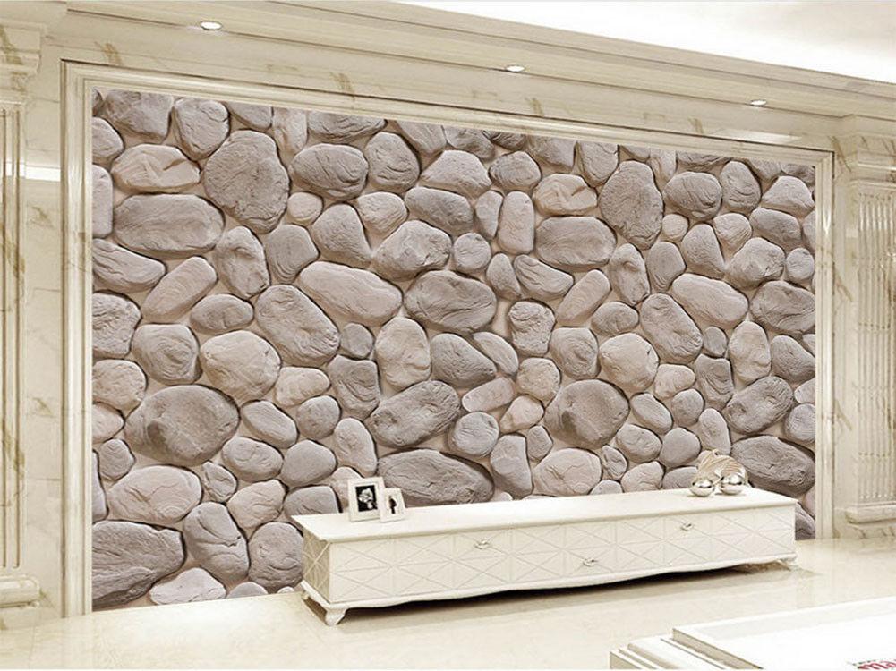 Pure Classical Stones 3D Full Wall Mural Photo Wallpaper Printing Home Kids Deco