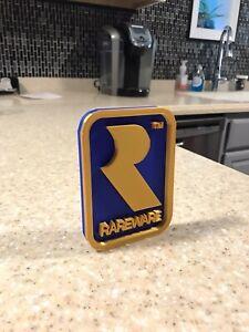 Revised-Rareware-Video-Game-Logo-Sign-Decoration-4-5x3in