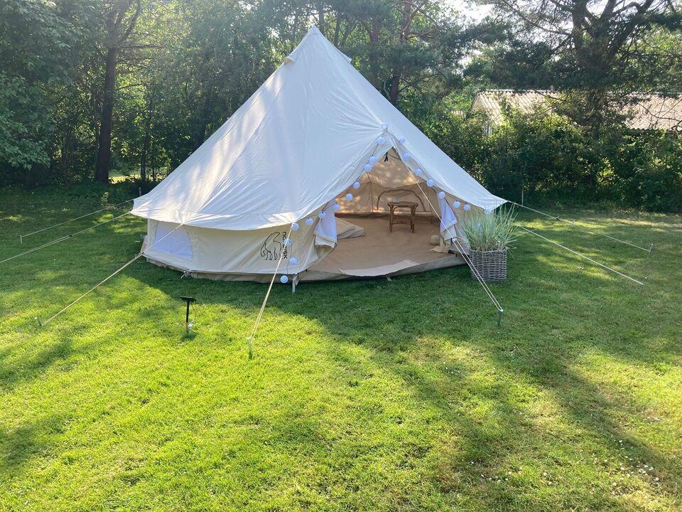 Udlejning glamping telt og udstyr