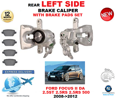 RIGHT BRAKE CALIPERS FOR FORD FOCUS II 2.5 ST HYDA 2005 ON PAIR NEW REAR LEFT