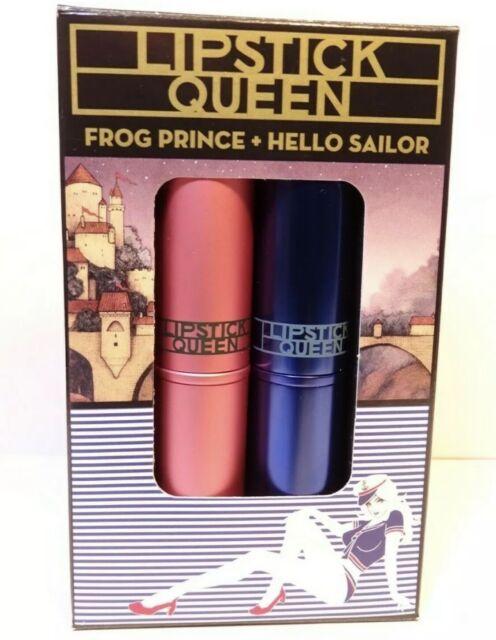 Frog Prince + Hello Sailor  Lipstick Queen BNIB