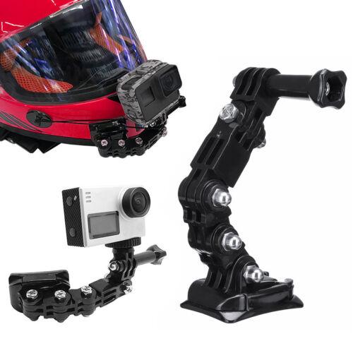 Cámara De Acción casco De Motocicleta Cara Completa barbilla de Montaje para Gopro Sony Acción