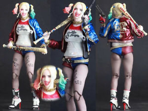 DC-Comic-Harley-Quinn-Batman-Suicide-Squad-Crazy-Toys-Action-Figurine-Statue
