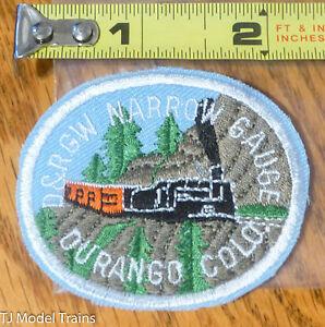 Patch #199 D&RGW Narrow Gauge Durango Colo. ( Railroad Patch )