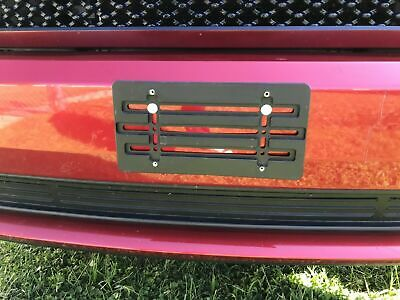 LICENSE PLATE TAG HOLDER MOUNTING RELOCATOR ADAPTER BUMPER KIT BRACKET for AUDI