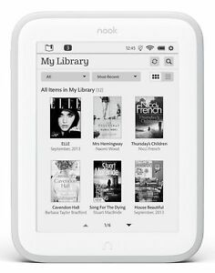 Barnes-amp-Noble-NOOK-GLOWLIGHT-eBook-Reader-E-Ink-BNRV500-4GB