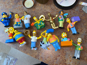 Lot 14 2007 The Simpson Movie Burger King Toys Not Sealed Ebay