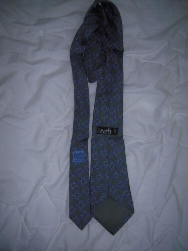 Cravate amp; Vintage Soie Ua 100 Hermès Authentique Réf Tbeg 7203 BHBUqw
