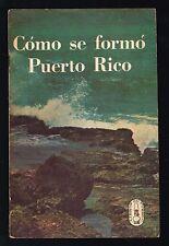 Panfleto Libros Del Pueblo N 7 1968 Como Se Formo Puerto Rico