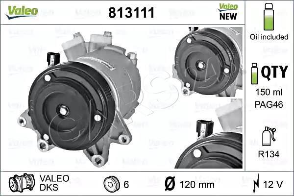 VALEO Klimakompressor Klimaanlage für NISSAN Murano Teana 3.5L 92600CA01B