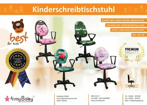 Best For Kids Kinderschreibtischstuhl ERGO FUSSBALL Kinder Drehstuhl Bürostuhl