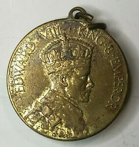 1937-king-Edward-VIII-Coronation-Medal-Brass-Rowntrees-Confectionary-32-mm