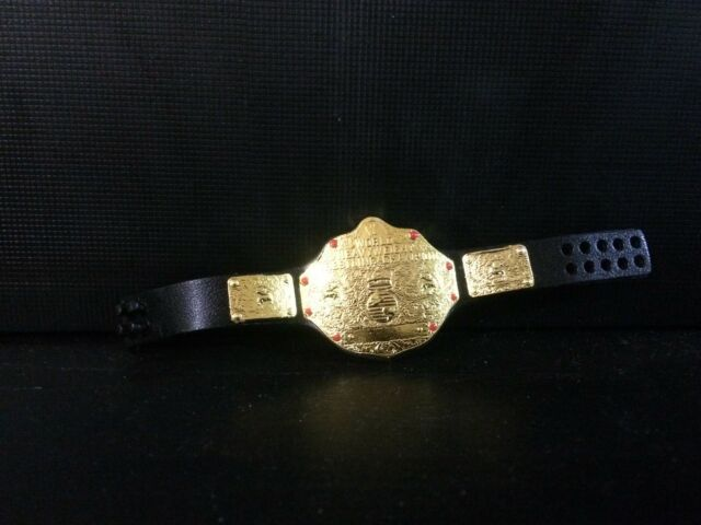 WWE Mattel Action Figure Accessory WCW World Heavyweight Title Belt Elite loose