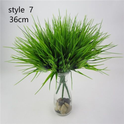 Artificial Plants Indoor Outdoor Nice Fake Leaf Foliage Bush Office Garden Decor