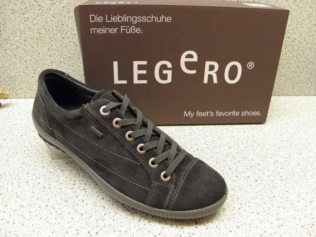 Legero ® réduit top prix nouveau Gore-Tex ® suede cuir gris (l21)