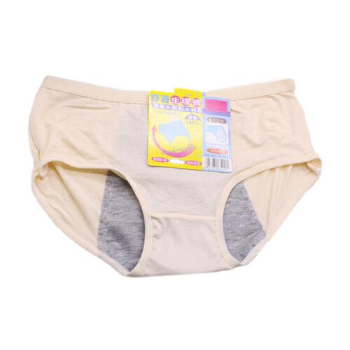 Physiological Leakproof Menstrual Period Lengthen Broadened Underwear PantiesTDO