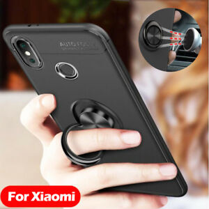 SHOCKPROOF-Ring-Stand-Cover-For-Xiaomi-Redmi-4X-Note-5-Pro-Mi-6-8-SE-Phone-Case