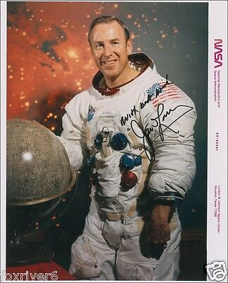 JAMES JIM LOVELL - Signed Photograph - NASA Astronaut - Space - Apollo 13