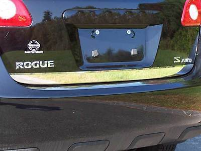 FITS NISSAN ROGUE SELECT 2014-2015 STAINLESS STEEL CHROME REAR DECK TRIM
