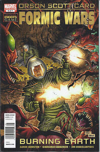 Orson-Scott-Card-Formic-Wars-Comic-Issue-6-Modern-Age-First-Print-2011-Johnston