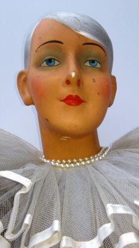 Great,antique,art-deco mannequin,flapper girl,char