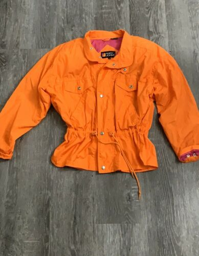 Andy Johns Vintage Orange Jacket Size Medium