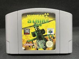 N64 Nintendo 64 Juego-nuclear Strike 64-PAL