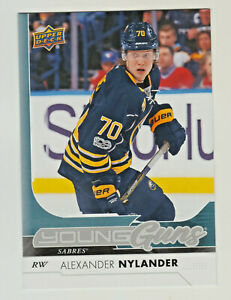 2017-18-Upper-Deck-YOUNG-GUNS-OVERSIZE-ALEXANDER-NYLAND-RC-Rookie-Blackhawks