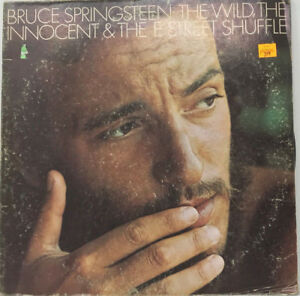 Bruce-Springsteen-The-Wild-The-Innocent-LP-Vinyl-Record-1st-Pressing-1973