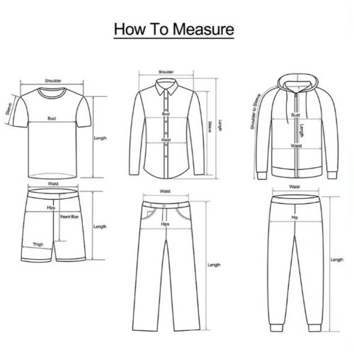 Plus Size Men Punk Retro Goth Slim Casual Pocket Long Pants Trousers Legging US