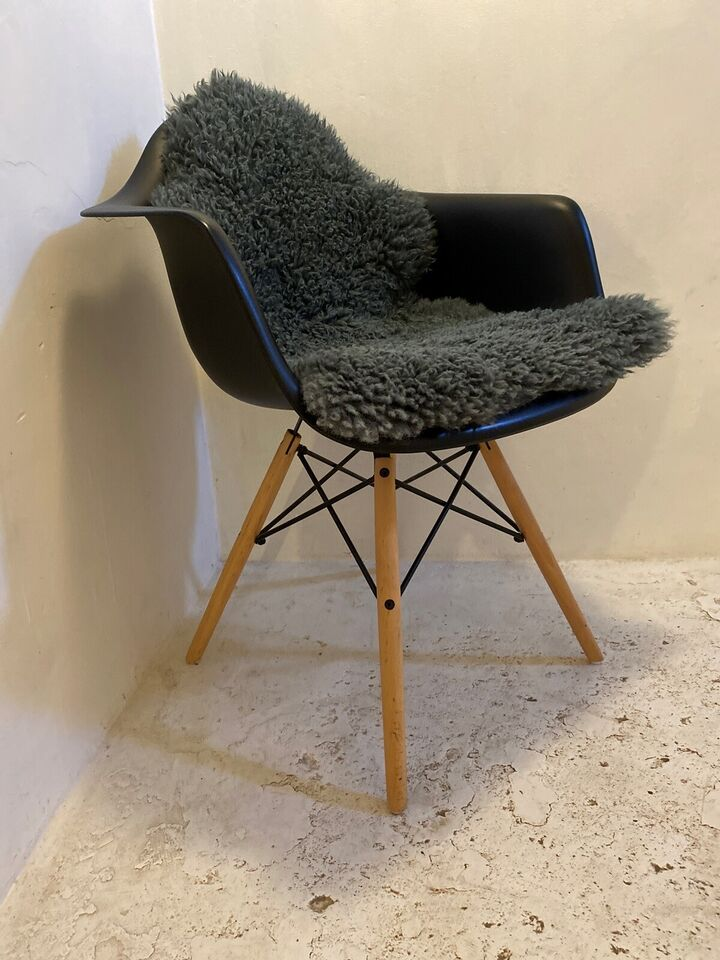 Spisebordsstol, Træ, jern & plast