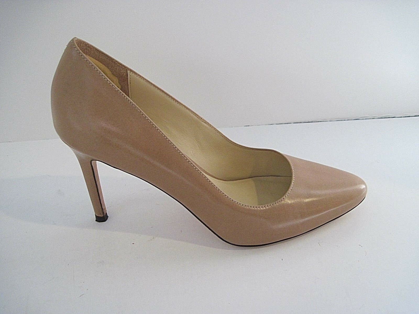 Cole Haan Grand Os Beige Leder Heels Heels Heels Pumps Größe 8 1/2B, Excellent Condition 7cac22