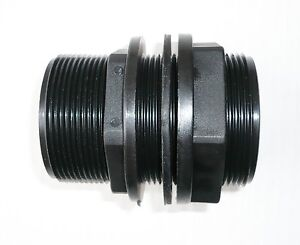 Details about IBC TANK ADAPTER FITTING MDPE water bio diesel pipe adaptor  connector 1/2