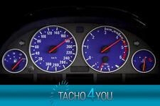 Bmw de tacómetro 300 multaránpor velocímetro e39 diesel m5 azul 3378 velocímetro disco km/h x5
